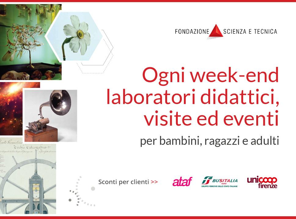 Sconti per i Clienti Ataf, BusItalia e soci Coop – Museo Fondazione Scienza e Tecnica