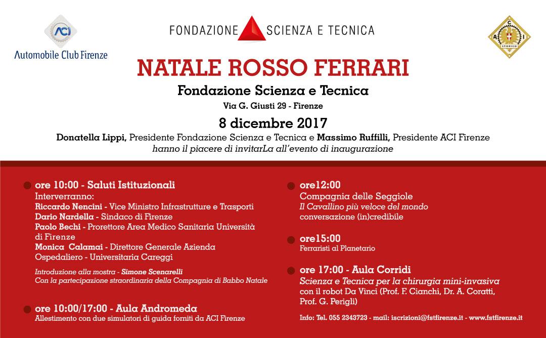 Natale Rosso Ferrari – 8 dicembre 2017