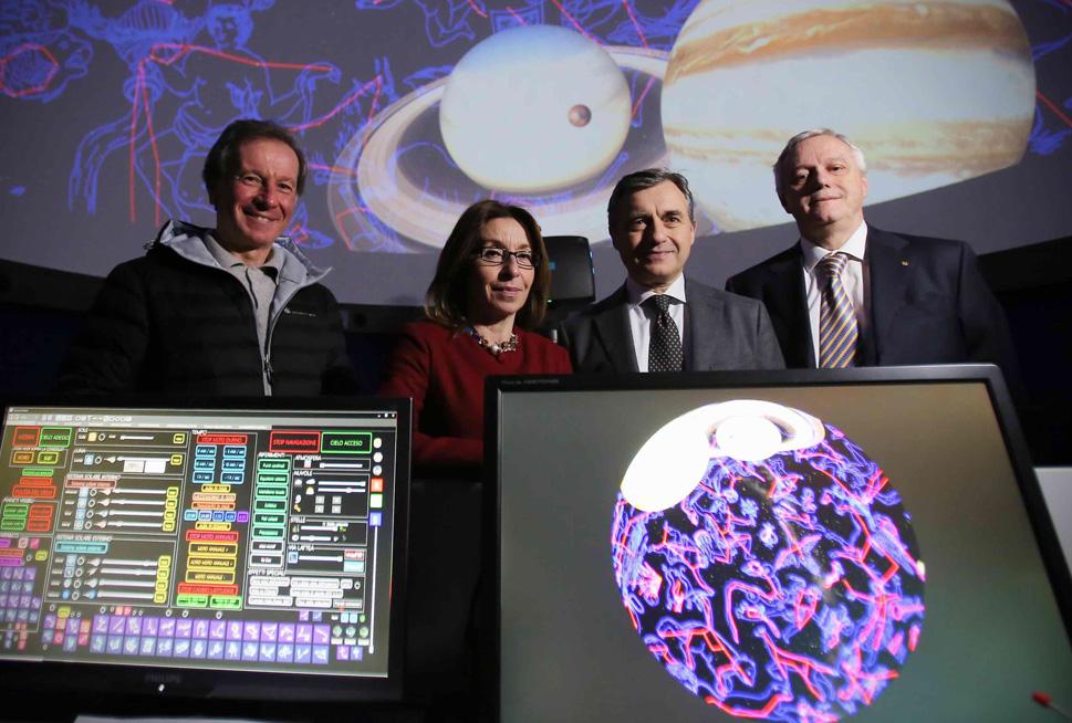 Inaugurazione del nuovo Planetario Digitale