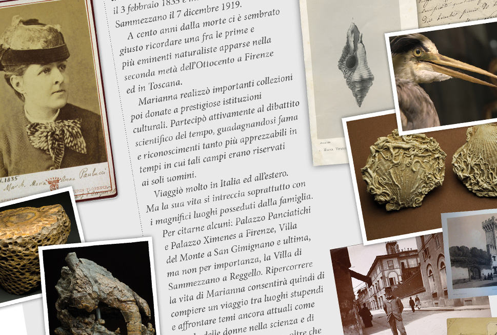 Luoghi, talenti e modernità di Marianna Panciatichi Ximenes d'Aragona Paulucci: donna, collezionista e scienziata nella Toscana dell'800