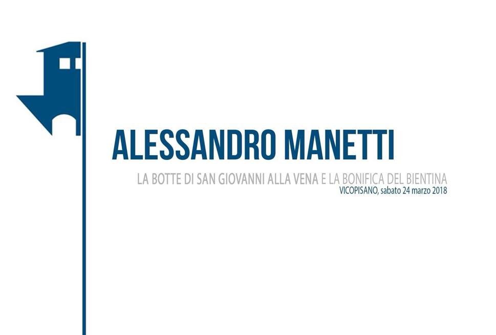 L'opera di Alessandro Manetti per il prosciugamento del lago di Bientina