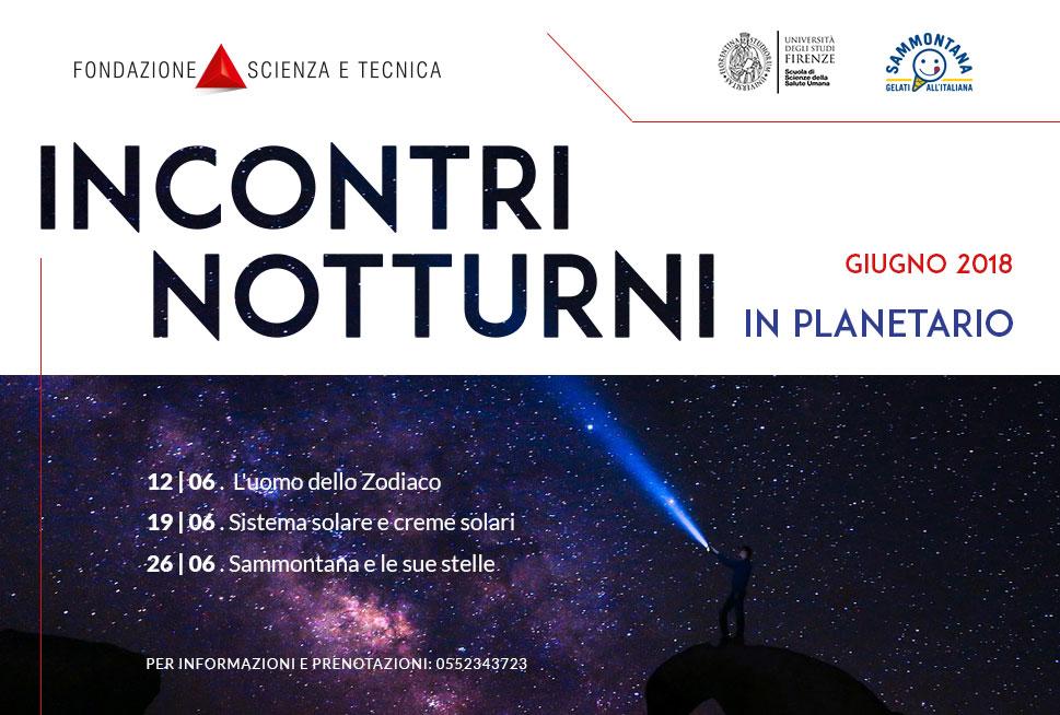 Incontri Notturni al Planetario di Firenze