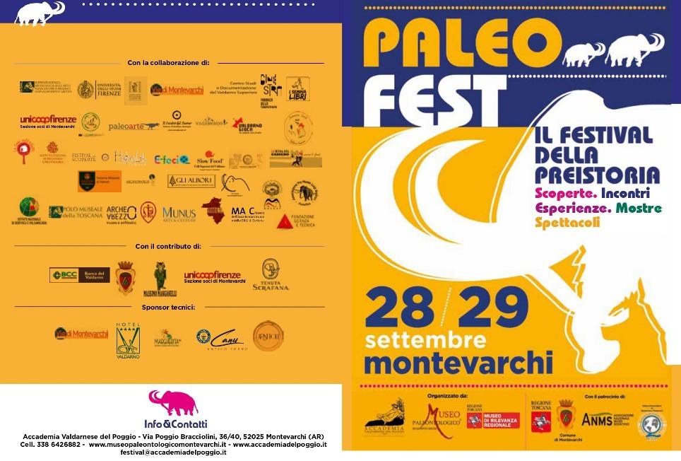 28-29 Settembre 2019 –  Paleofest 2019