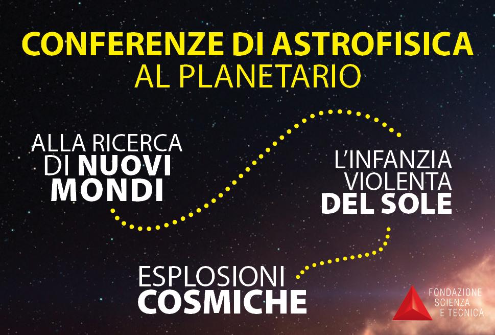 Febbraio-Aprile 2020: conferenze di astrofisica