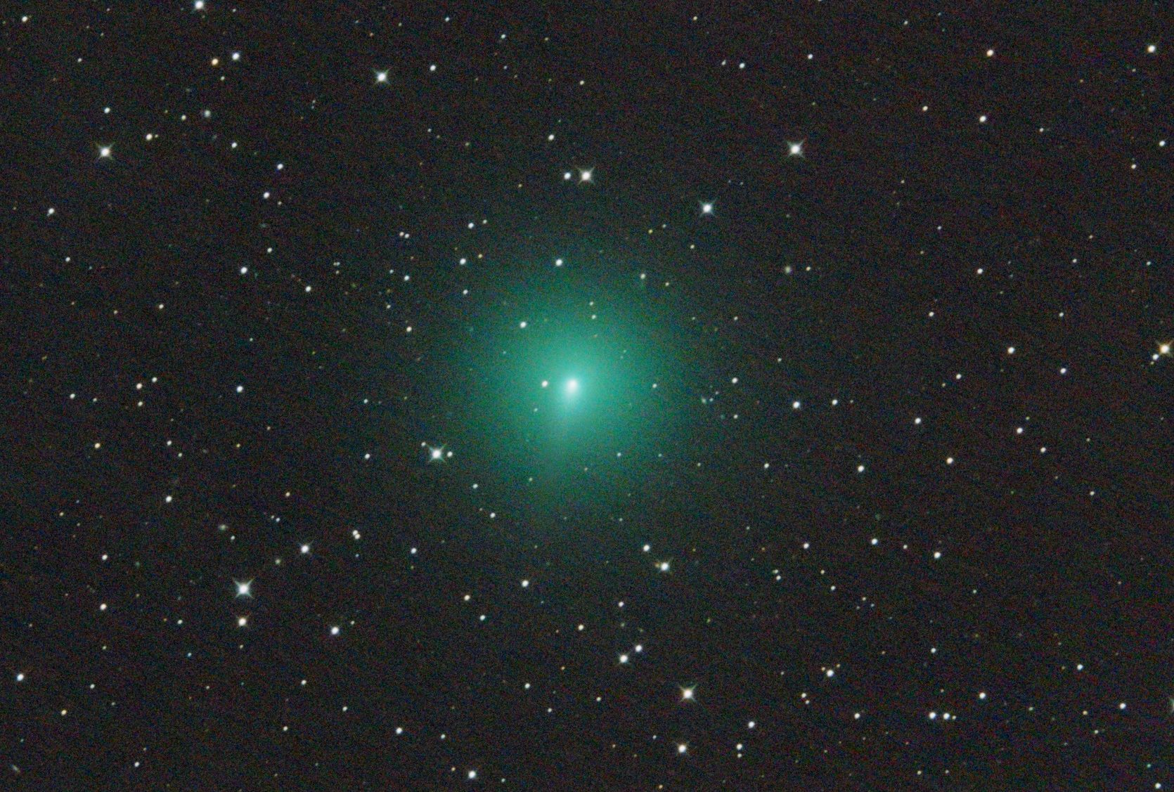 La cometa Atlas nel cielo di Aprile